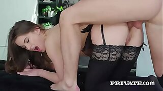 Evelina Darling, addicted to lingerie and and anal fucky-fucky
