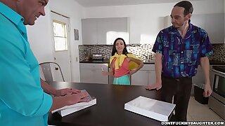 Young Kiley Jay Covets Her Tutor's Big Cock (dfmd15748)