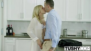 TUSHY Bosses Wifey Karla Kush First-ever Time Assfuck With the Office Assistant