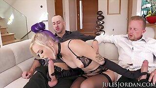 Jules Jordan - Alex Grey Double Penetration