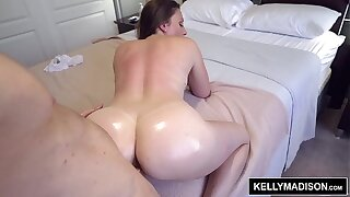 Melanie Hicks Works Her Massive Ass To Get Ryan Madison Off