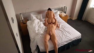 Hidden Hotel Web cam Recorded Hot Hookup in Different Positions